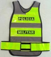 colete refletivo tipo manta padrão Polícia Militar