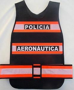 """alt=""""imagem de coletes refletivos da Pol�cia da aeron�utica"""""""