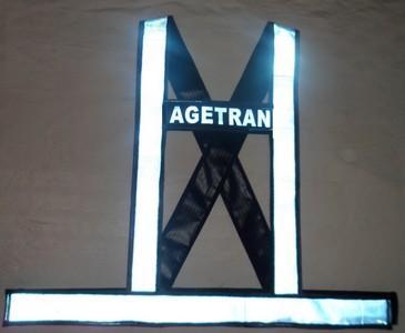 """alt=""""imagem de colete refletivo tipo HX azul"""""""