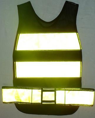 Colete Refletivo tipo Manta Amarelo-Fluorescente
