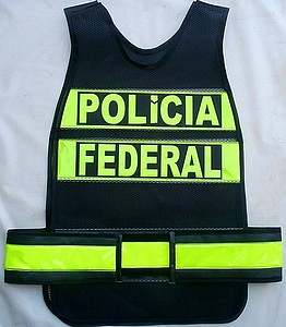 colete refletivo para a Polícia Federal