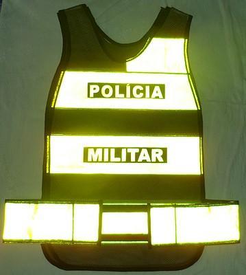 coletes refletivos para polícia militar