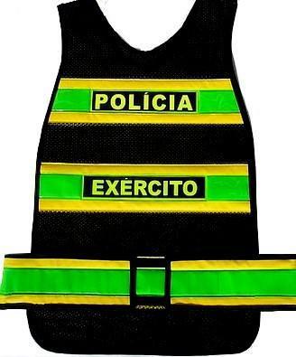 """alt=""""Coletes Refletivos da Pol�cia do Ex�rcito"""""""